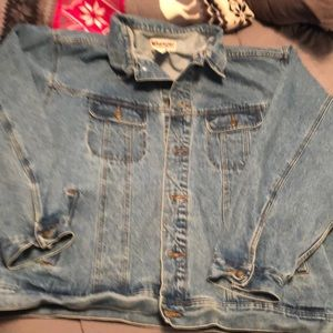 Denim Jacket size 4X